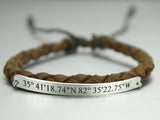 leather cooridinate bracelet for women
