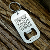 Game of Thrones Keychain Bottle Opener, I Drink and I Know Things