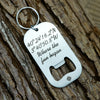 Latitude Longitude Bottle Opener Keychain, Custom Coordinates Key Chain