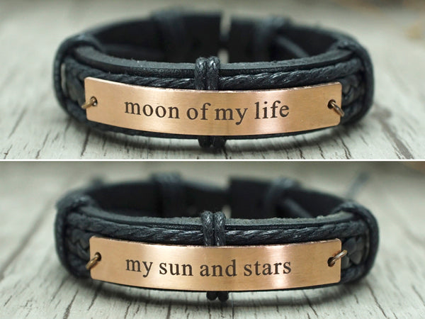 Moon of my life - my sun and stars bracelet, Game of Thrones