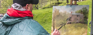 Painting In The Rain - Sixth Annual Plein Air Event