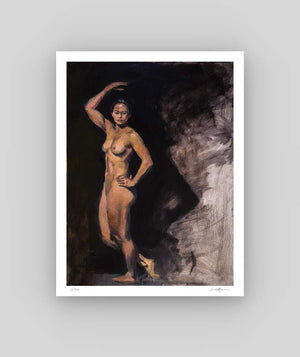 Female Nude with Cast Shadow
