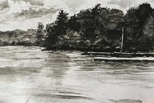 Eagles Mere, Ink Wash I