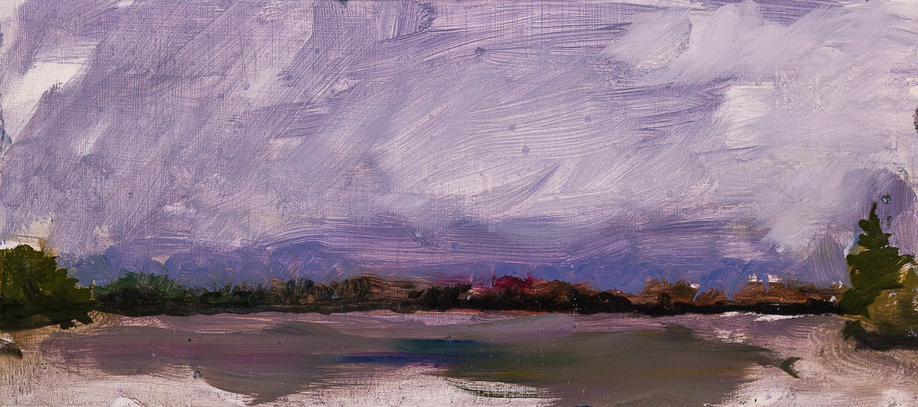 Approaching Storm, Color Study