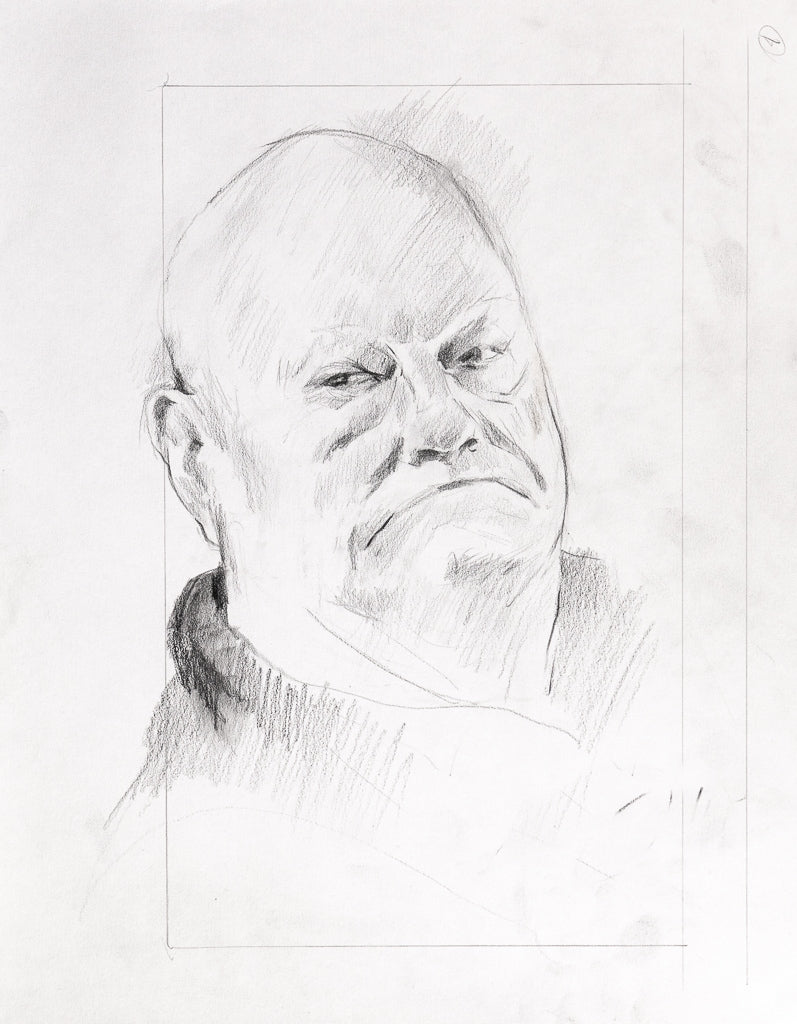 Don, Pencil Study