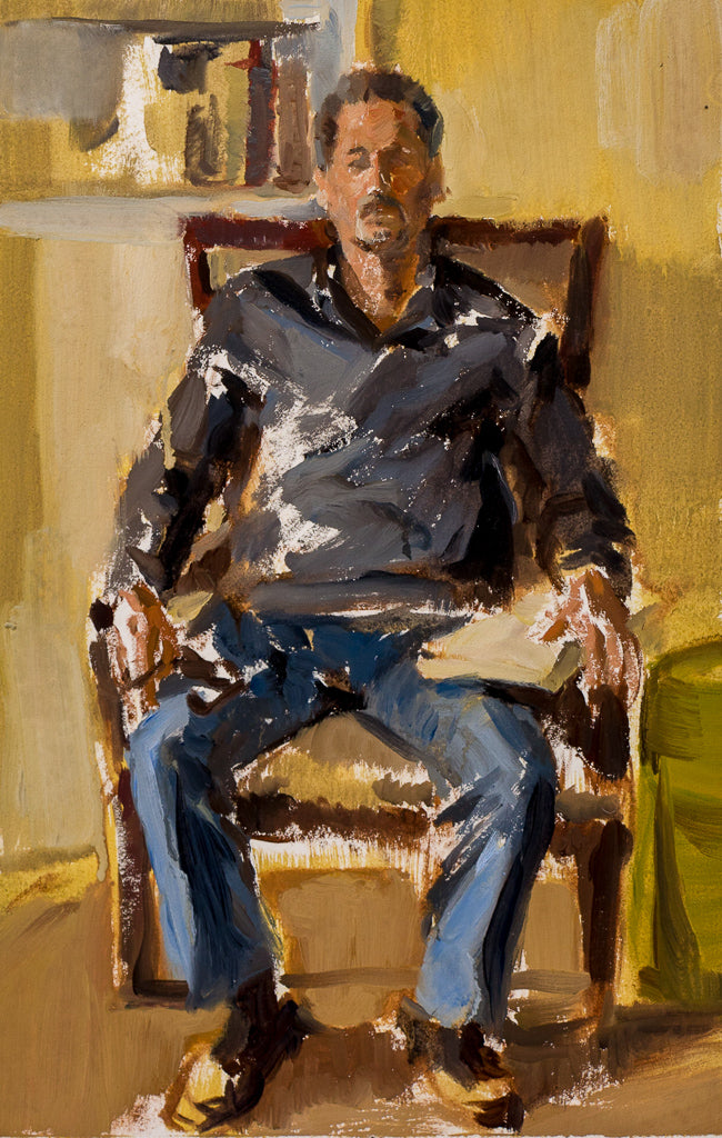 Murrie Sitting, Color Study
