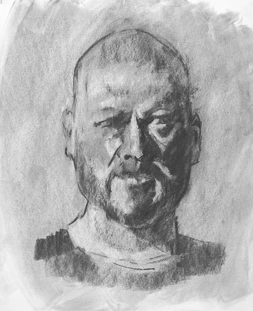 Self Portrait Drawing, 2016