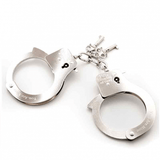 Fifty Shades of Grey Metal Handcuffs - You. Are. Mine.