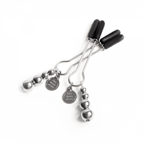 Fifty Shades of Grey Adjustable Nipple Clamps - The Pinch