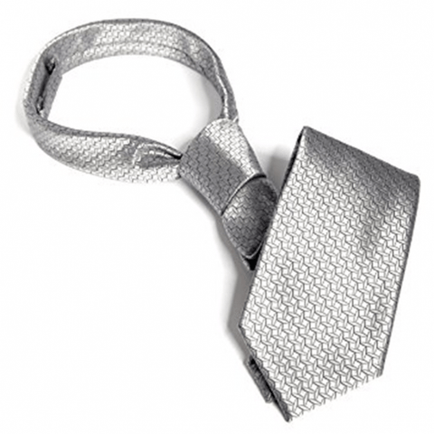 Fifty Shades of Grey Christian Grey's Silver Tie