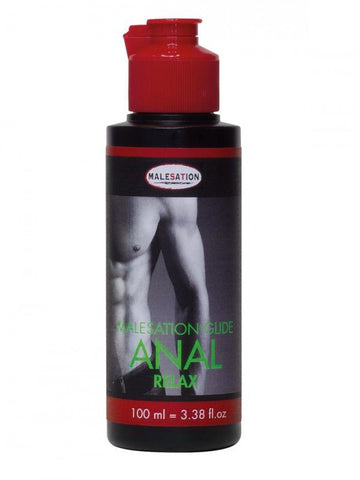 Malesation Anal Relaxing Hybrid Water & Silicone Based Lubricant