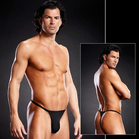 Blue Line Performance T-Back Thong