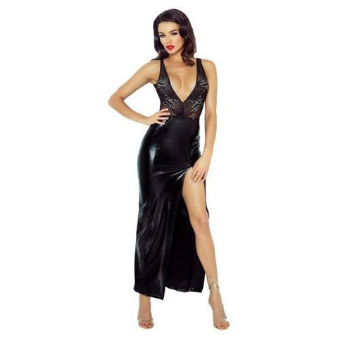 Demoniq Jacqueline Deep-V Dress