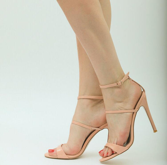 BDC Inspired Diva Heels in Pink Patent