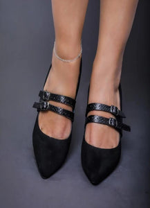 Nefeli Curious Pumps in Black