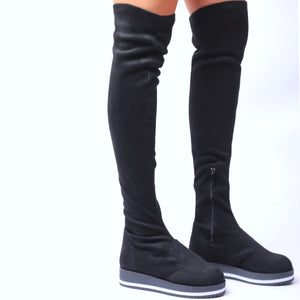 Nefeli Over-the-Knee Sports-Grind Boots