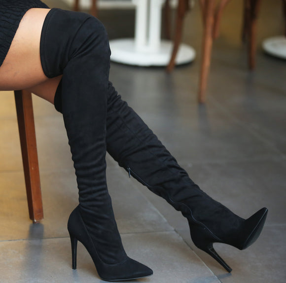 Victim Salisbury Stiletto Boots