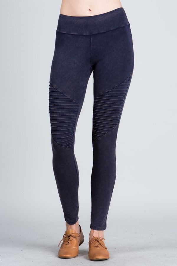 Leggings Motto (Mineral Wash) more colors avail