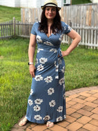 Maxi Dress (Denim)