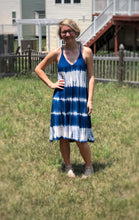 dress (Ocean Blue Tye Dye Spaghetti Strap)