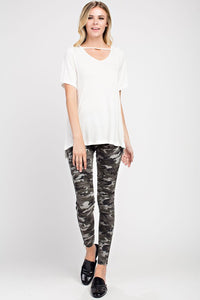 Jeggings, motto (grey camo)
