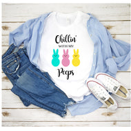 Graphic Tee (Chillin With my Peeps)