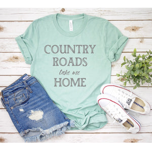 Graphic Tee (Country Roads take me Home)