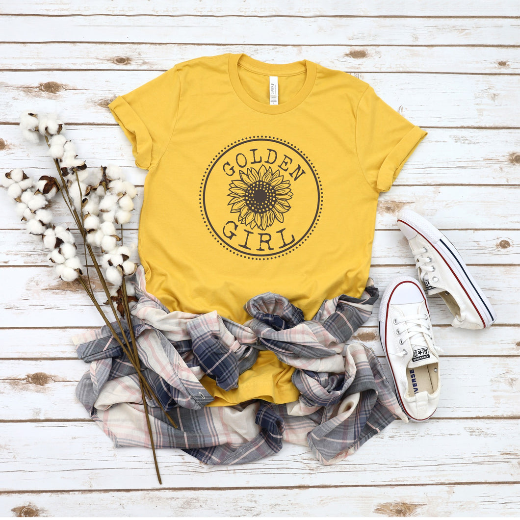 Graphic Tee (Golden Girl)