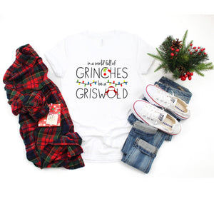 Graphic Tee (Grinch and Griswold)