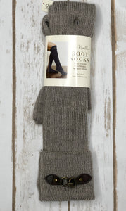 Boot Socks,  Heathered Buckle  (more colors available)