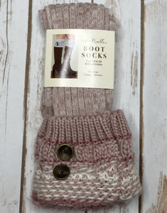Boot Socks, Cottage  (more colors available)