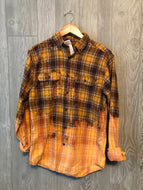 Harvest Plaid Acid Washed Flannel