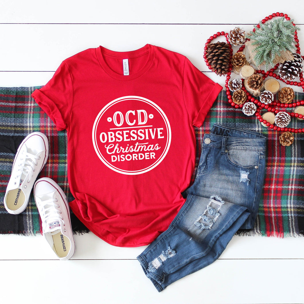 Graphic Tee (Obsessive Christmas Disorder)