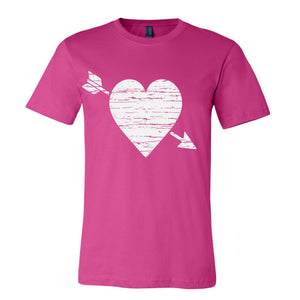 Distressed Heart Graphic Tee