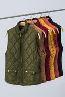 Vest, Quilted (more colors available)