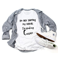 Graphic Tee (Speaking Cursive)