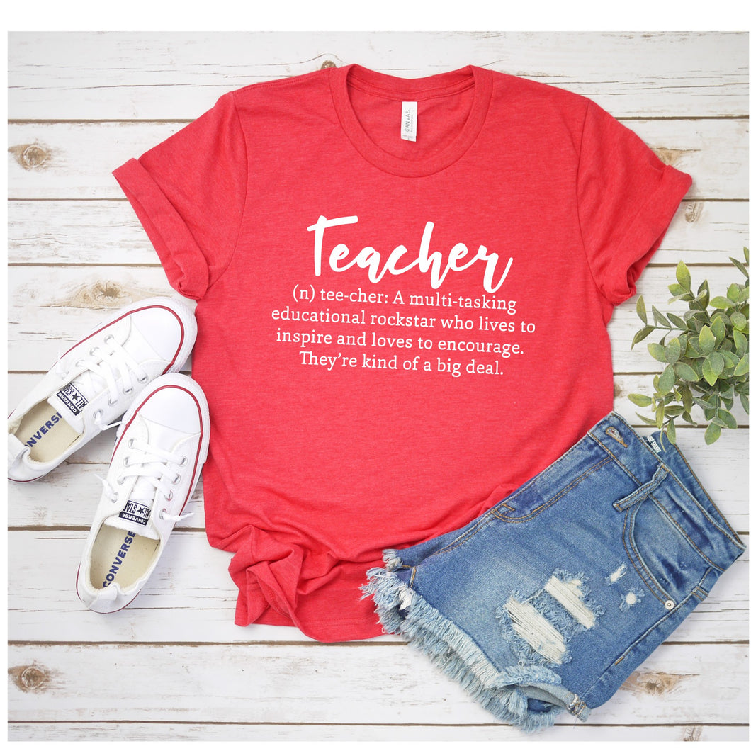 Graphic Tee (Teacher)