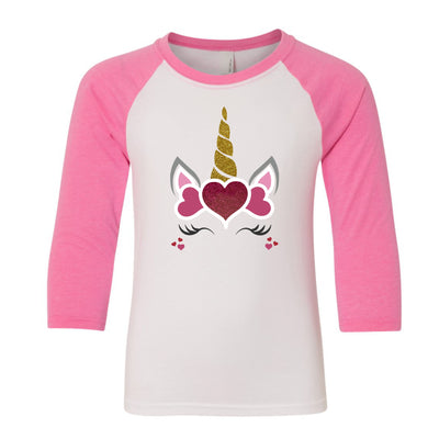 Unicorn baseball tee (kids)