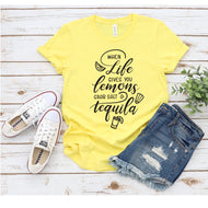 Graphic Tee (When life gives you Lemons)