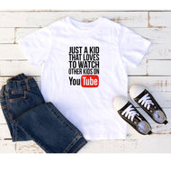 Kids Graphic Tee  (Youtube)