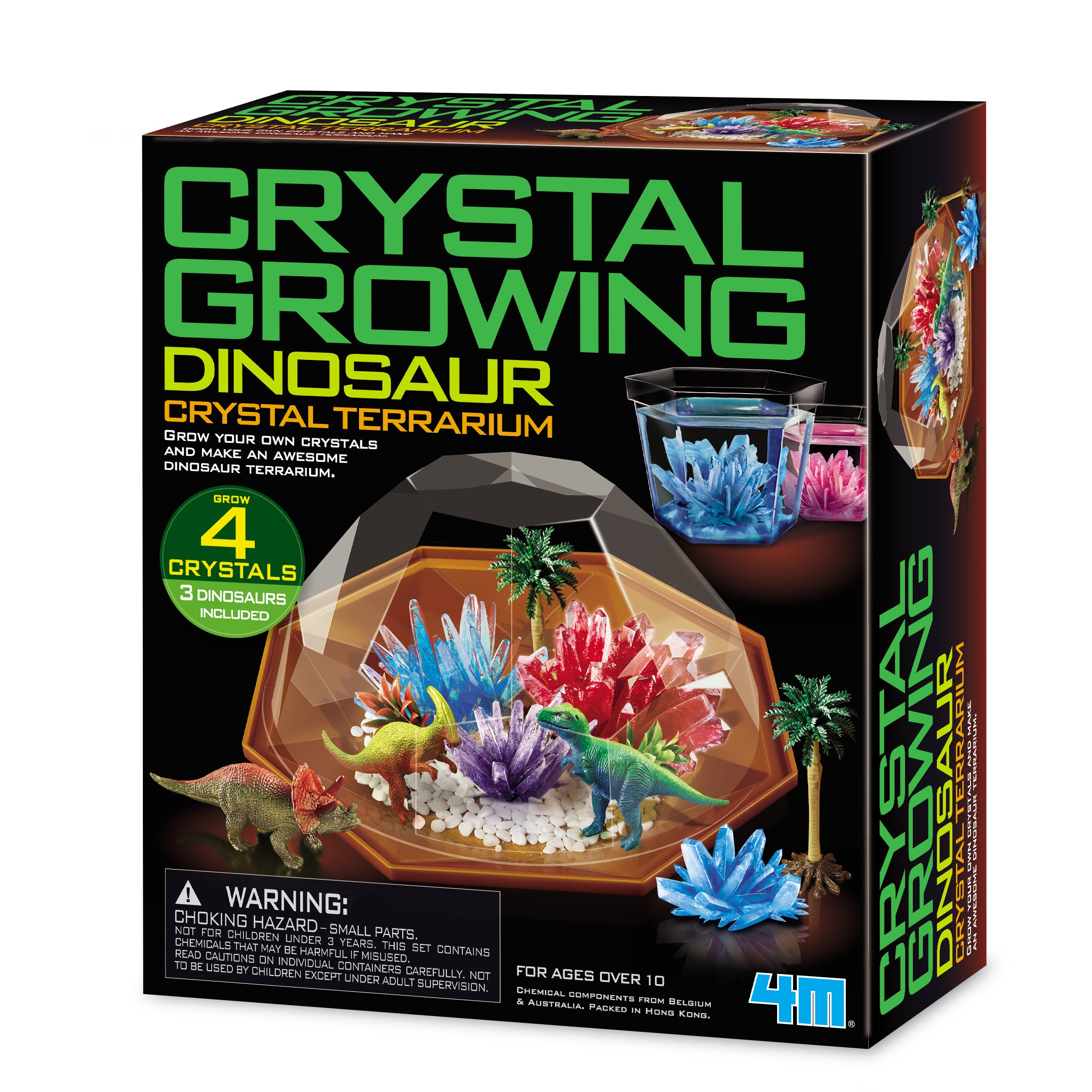 Dino Crystal Terrarium Imaginuity Play With A Purpose