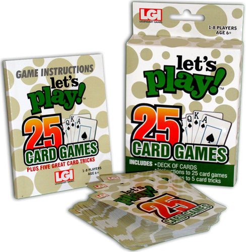 25 Card Games
