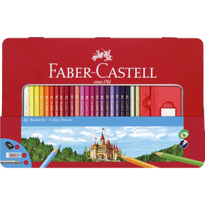 48 Color Pencils & Accessories Gift Set