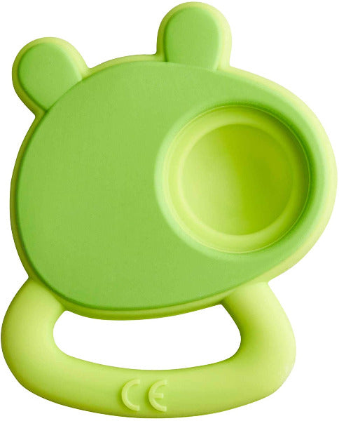 Popping Frog Teether
