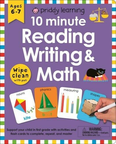 10 Minute Reading, Writing, and Math