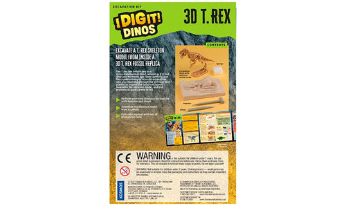 3D TRex Excavation Kit