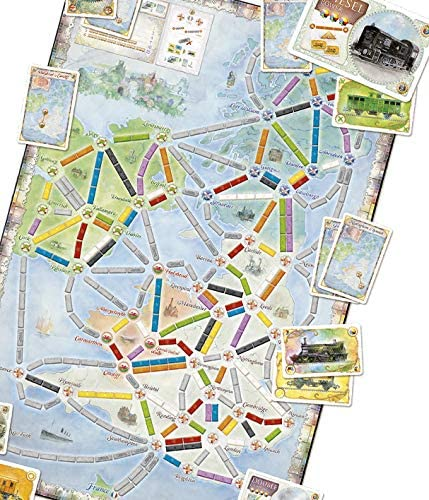 Ticket to Ride Expansion UK