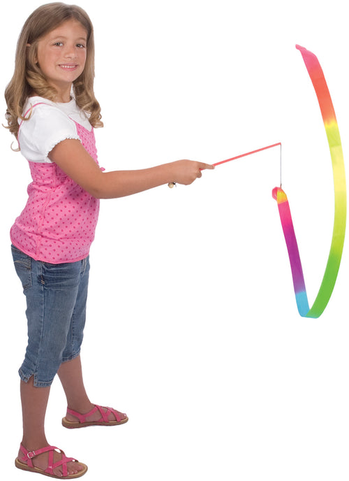 Rainbow stunt streamer