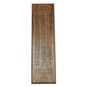 3 Track Walnut cribbage USA