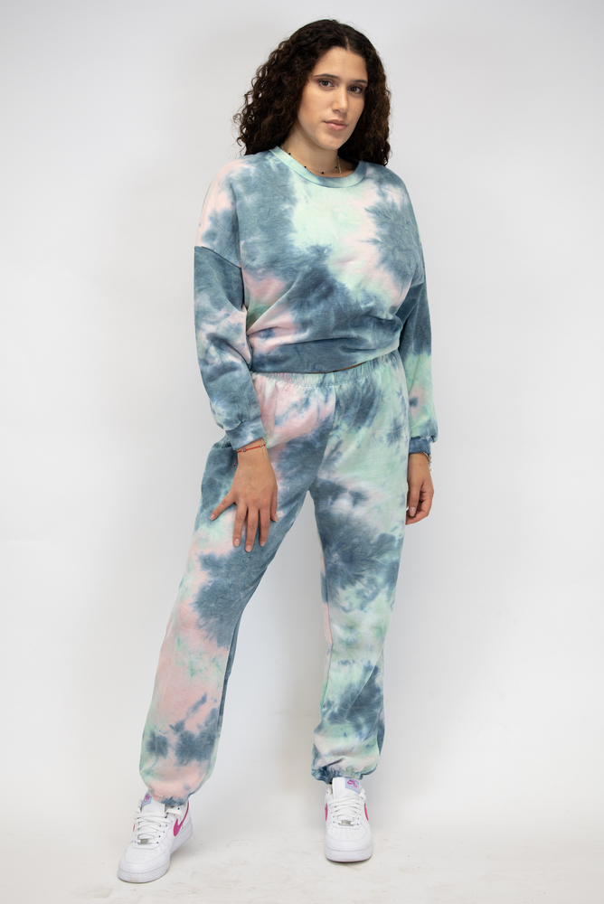 Tie Dye Set with Top and Trouser